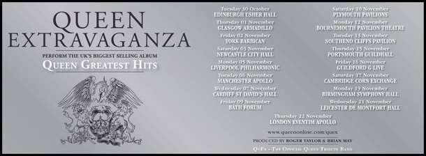 Roger Taylor's Queen Extravaganza live at The Forum on Friday 9th November 2018