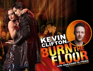 KEVIN CLIFTON in BURN THE FLOOR with Graziano Di Prima  at The Forum in Bath on Tuesday 21 May 2019