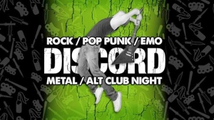 DISCORD – ROCK, POP PUNK, EMO, METAL & ALTERNATIVE ANTHEMS! at The Moles in Bath on 22 May 2019