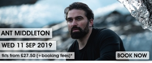 Ant Middleton at The Forum in Bath on Wednesday 11 September 2019