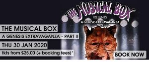 The Musical Box: A Genesis Extravaganza II 2020 at The Forum in Bath on 30 January 2020