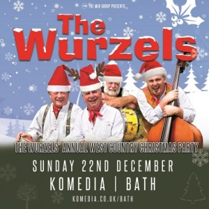 THE WURZELS' WEST COUNTRY CHRISTMAS PARTY! at the Komedia in Bath on Sunday 22 December 2019