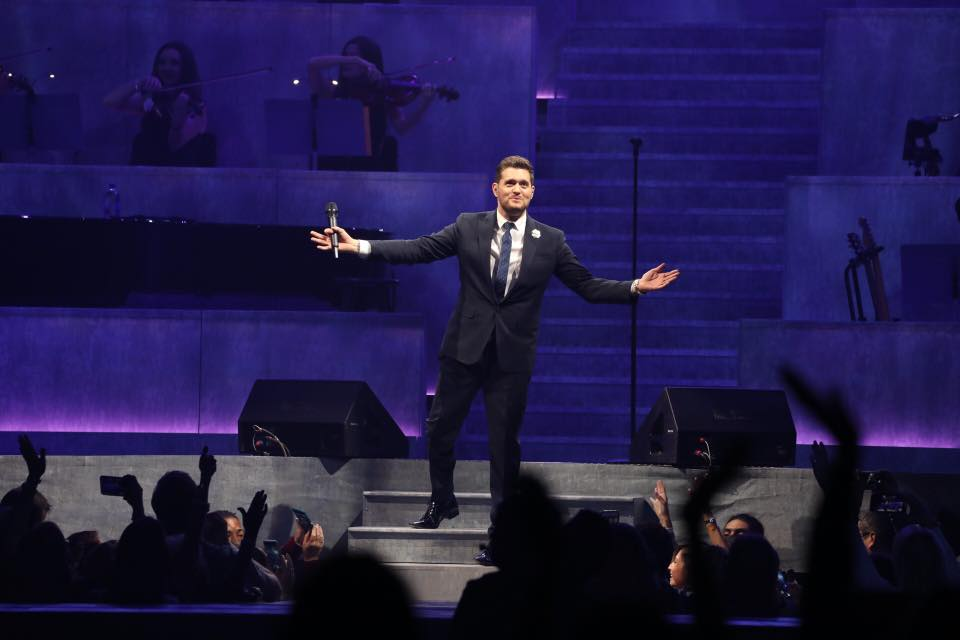Michael Bublé is coming to Bath