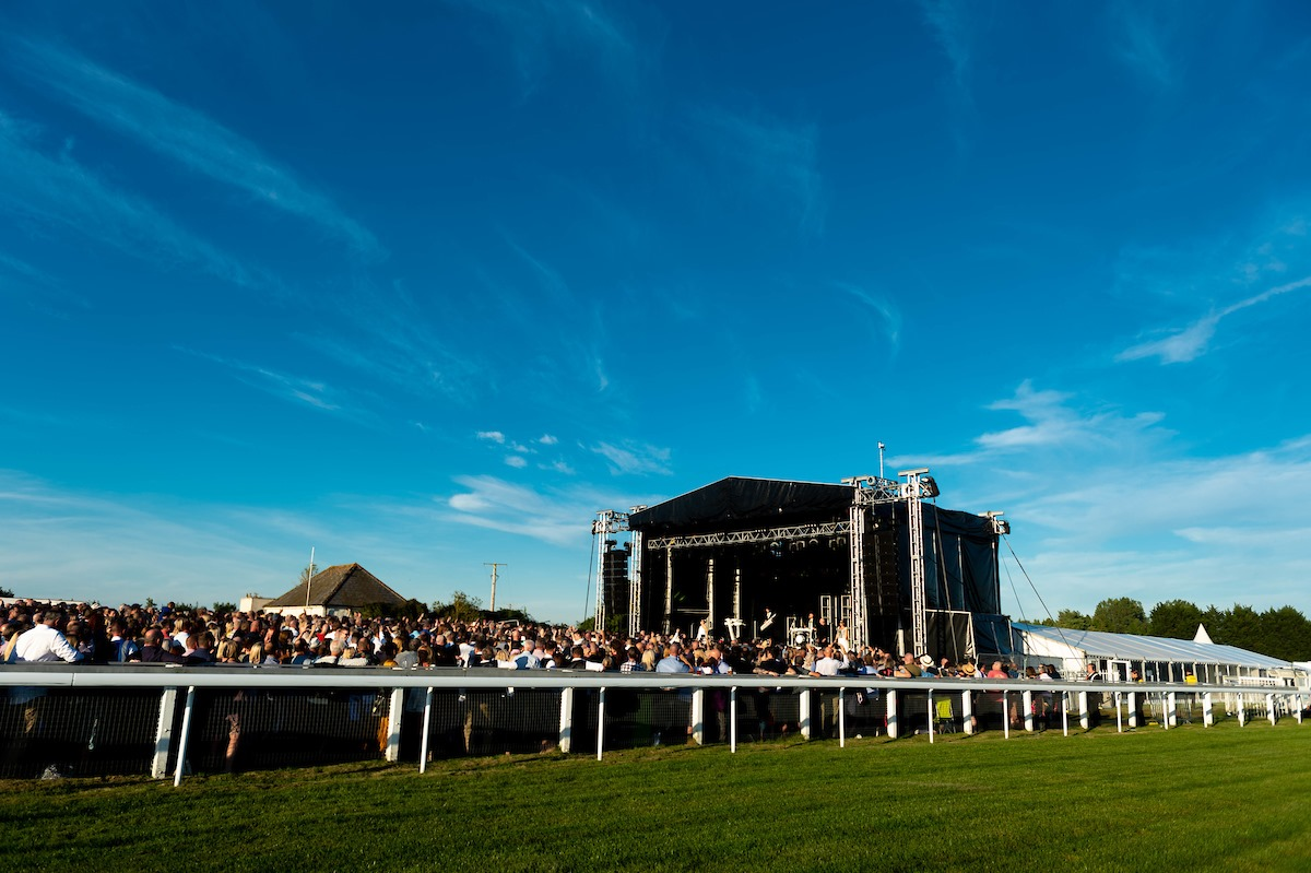 The Human League performed at Bath Racecourse in September 2019