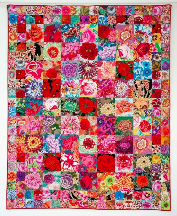 A Celebration Of Flowers Kaffe Fassett With Candace Bahouth At The