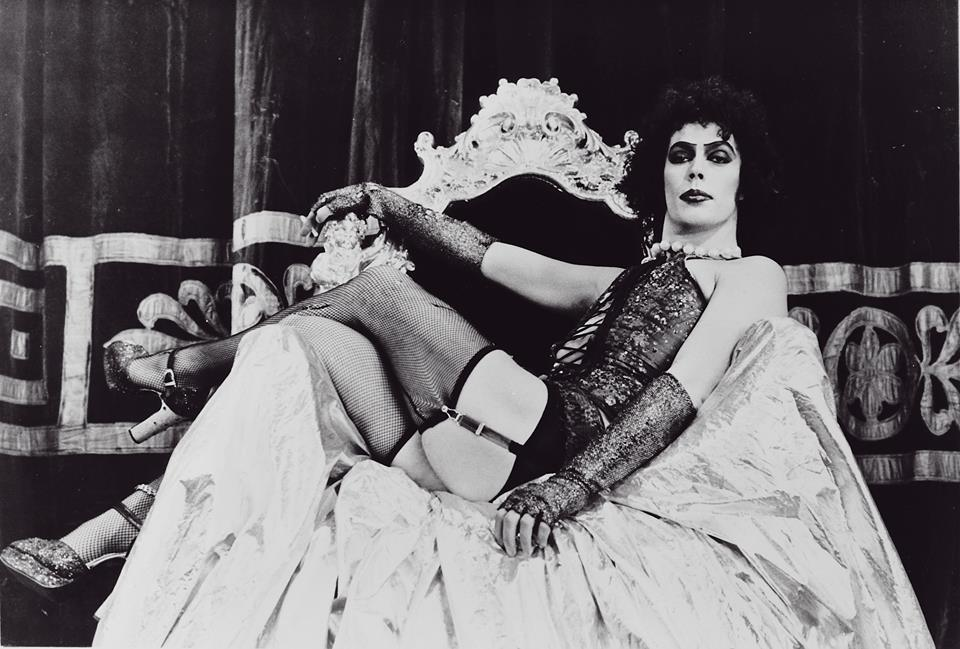 Tim Curry in The Rocky Horror Picture Show.