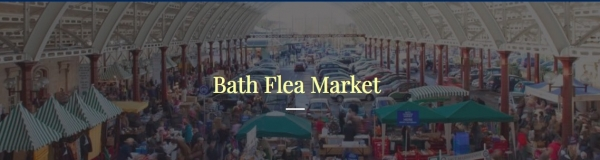 Bath Flea Market at Green Park Station on Sunday 3rd March 2019