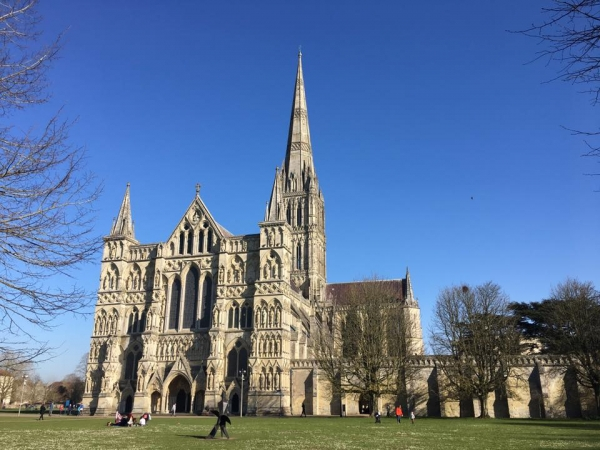 St Matthew Passion at Salisbury Cathedral on Wednesday 17th April 2019