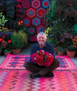 A Celebration of Flowers: Kaffe Fassett with Candace Bahouth at the Victoria Art Gallery
